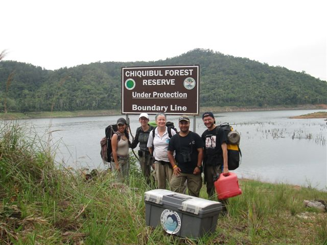 BWRC medical crew at Raspaculo reservoir.